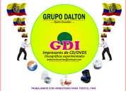 Full cd impresiones empresa de grabaciones dvd