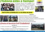 Servicio civil ciudadano