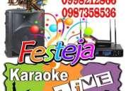 Eventos para empresa karaoke a domicilio en quito con amplificacion