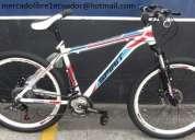 bicicletas shimano montañeras 100% aluminio aro de 26 pulgadas nuevas de paquete  ecuador