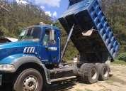 Volqueta mula mack granite