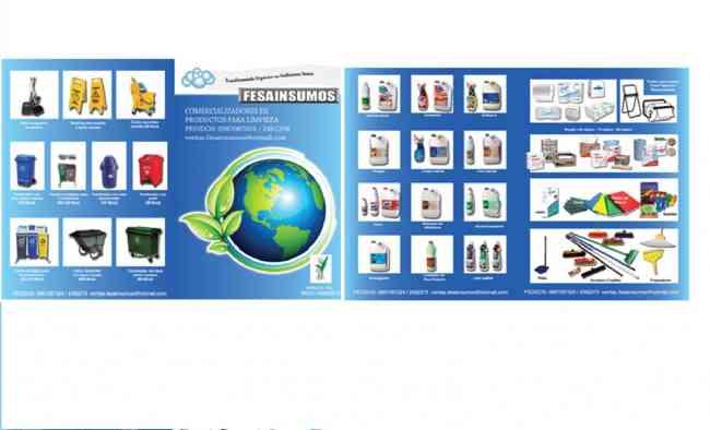 Fesainsumos ofrece venta de productos de limpieza para su empresa