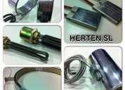 Resistencias electricas de inmersion y cartuchos calefactores de alta calidad - herten sl-
