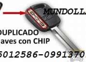 Llaves para autos con chip  y sin chip     0991370984