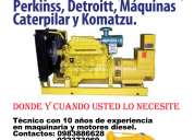Mantenimiento preventivo y correctivo de motores diesel