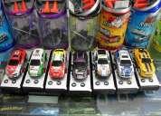 Mini carros  carritos  control remoto prende luces deportivos a solo