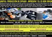 Fabrica de impresiones de cd/dvd y copiado