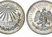 Coleccion de monedas de plata mexicanas