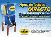 Filtro purificador de agua mas vendido en 25 paises .pvp $49