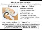 Evento de cosmetologia botanica 0969 808 545