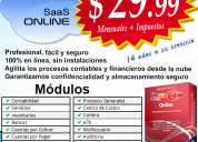 Sistema contable, software contable(sifacon)