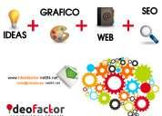 Desarrollo web, diseño grafico y posicionamiento web