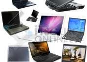 Lotes de laptop hp, compaq, apple, dell, toshiba miami