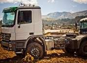 Camion mercedes benz actros se vende de oferta 60000 usd