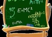 Clases de matemáticas y trigonometría