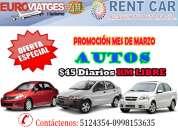 Alquiler de vehiculos en guayaquil