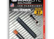 linterna maglite solitaire black led - m87