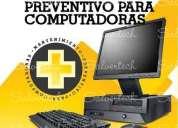 Mantenimiento preventivo para computadoras pc y laptos - domicilio