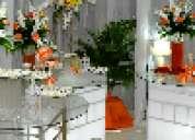 Viento  blanco  eventos . buffet , decoracion  , servicio  a  domicilio  y  en  salones