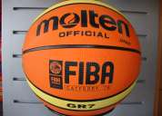 Balon de basquet molten gr7 caucho de oferta