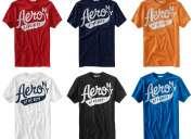 Camisetas aeropostale importadas por lote (24 unidades $324)