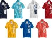 Camisetas tipo polo aeropostale importadas al por mayor $16.50 cada una