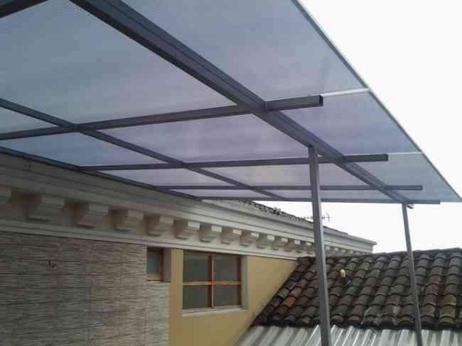 Policarbonato techos cubiertas pergolas desde 52mt2 for Techo policarbonato transparente