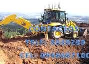Desbanques, alquiler martillo hidráulico, derrocamientos ,venta material pétreo,nivelaciones