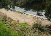 Cambio terreno de 1223metros en tarqui km16por sitio pequeño en cuenca ho un pequeño departamento