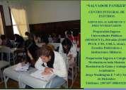 Cursos de  preparacion y nivelaciÓn para los examenes de grado