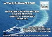 Alquiler yate,catamaran, veleros botes y lanchas en panama