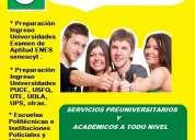 Cursos de   nivelaciÓn para los examenes de grado (ineval)