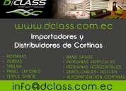 distribuidora de cortinas y persianas : importadores directos : venta al por mayor