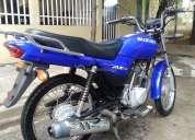Vendo moto  suzuki ax 4 aÑo 2012