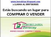 Buscas un lugar donde vender o comprar tu casa, santo domingo-quito-ecuador, inmobizar 0997363565