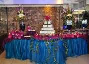 eventos  con  todo  servicio .  decoracion  ,  buffet  etc     buenos precios