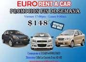 Ofrecemos servicio de alquiler de autos en guayaquil