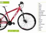Bicicleta aluminio aro 29 versión 27