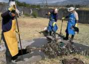 Limpieza y mantenimiento de pozos cisternas quitamos malos olores