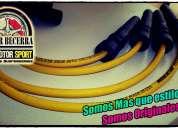 Cables de bujia racing - tuning chevrolet aveo - sail - corsa, instalaciÓn gratis