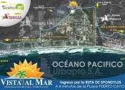 UrbanizaciÓn vista al mar le ofrece terrenos desde $8100
