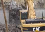 Desbanques,alquiler martillo hidráulico,excavaciones,derrocamientos,limpieza terrenos