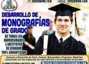 Monografías, tesis, tesinas  y proyectos (normas apa)