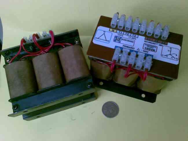 Fabricacion de Transformadores Tipo Seco de baja potencia