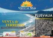 Terrenos de venta en puerto cayo, manabi, crédito directo