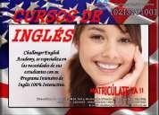 Cursos de inglÉs refrendados por el ministerio de educaciÓn en challenger english academy