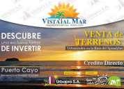 Urbanizacion  privada a 5 minutos de la playa de puerto cayo