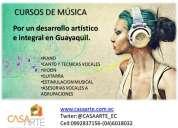Clases de piano y canto en guayaquil