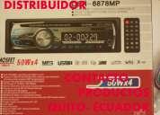 Radios stereos con  usb/ radio fm / mp3 / luz led / 75 dolares nuevos distribuidor