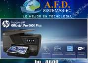 Hp officejet pro 8600 con sistema continuo de tinta
